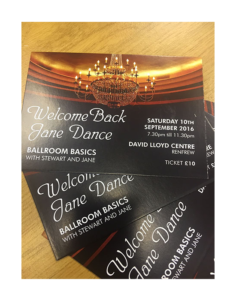 Ballroom Basics David Lloyd Dance Tickets