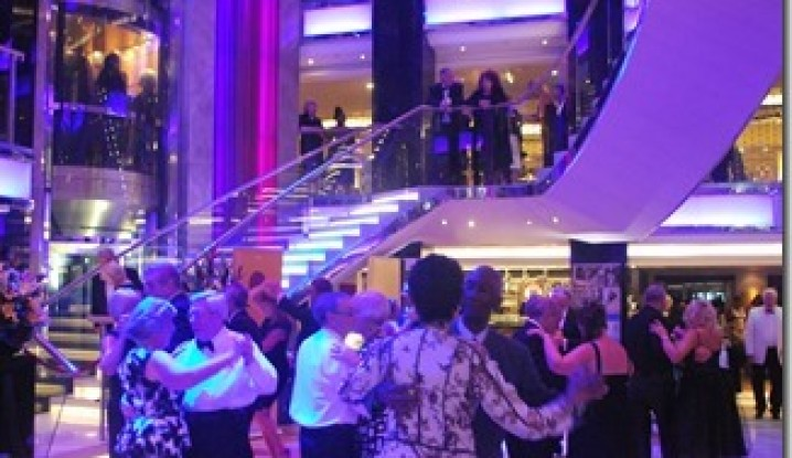 Dancing on P&O Cruise