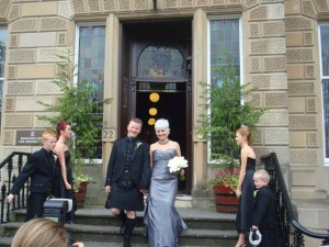 Jane Muir Wedding