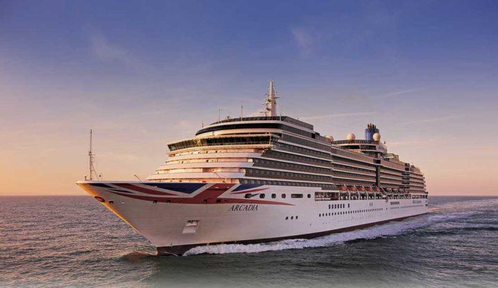 PO Cruise Ship Arcadia