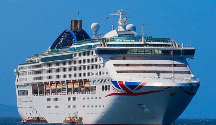 P&O Cruise Ship Oceana