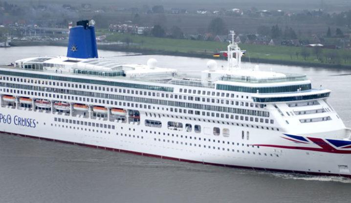 P&O Cruise Ship Aurora
